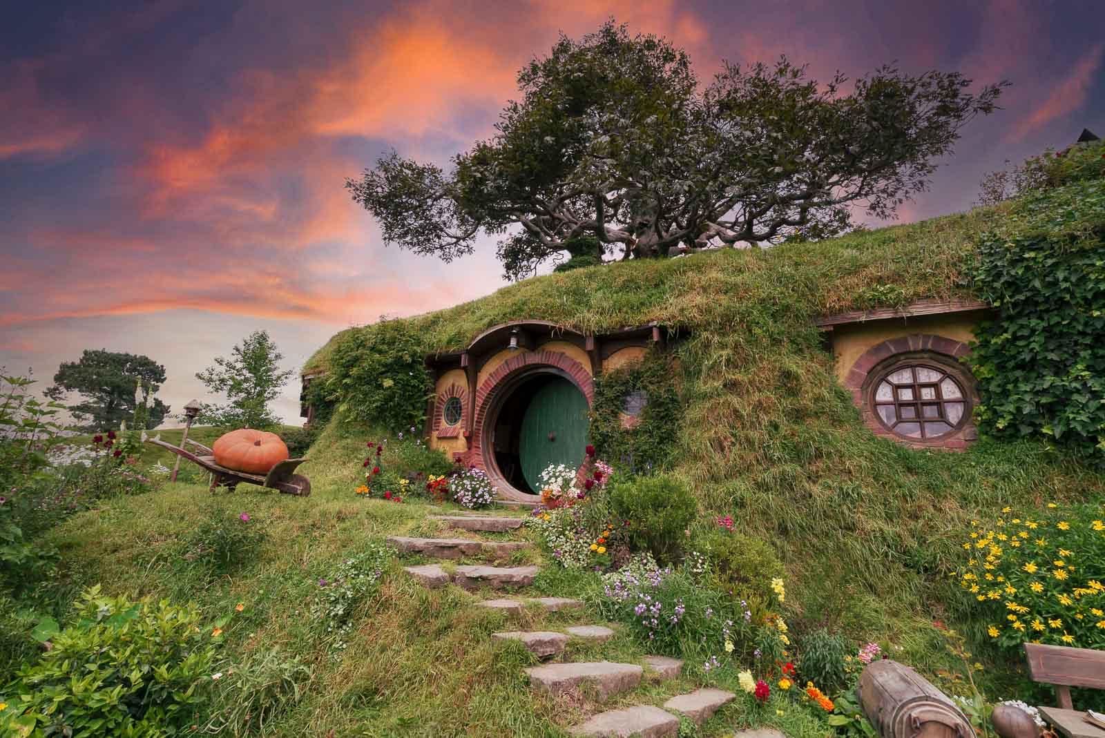 Hobbiton in New Zealand