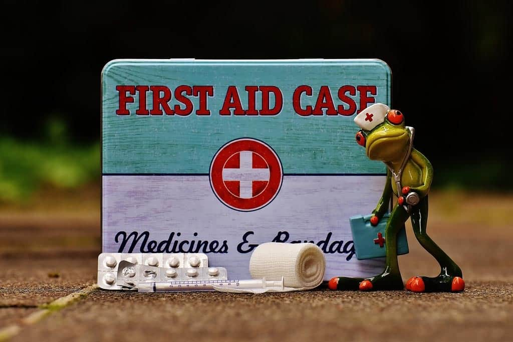 Checklist for packing First Aid Kit