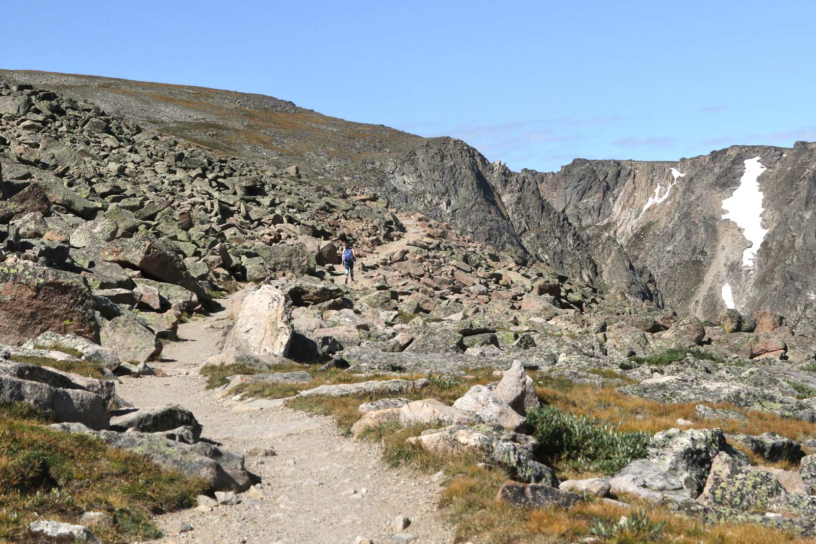 Flattop Mountain Trail in Rocky Mountain National Park