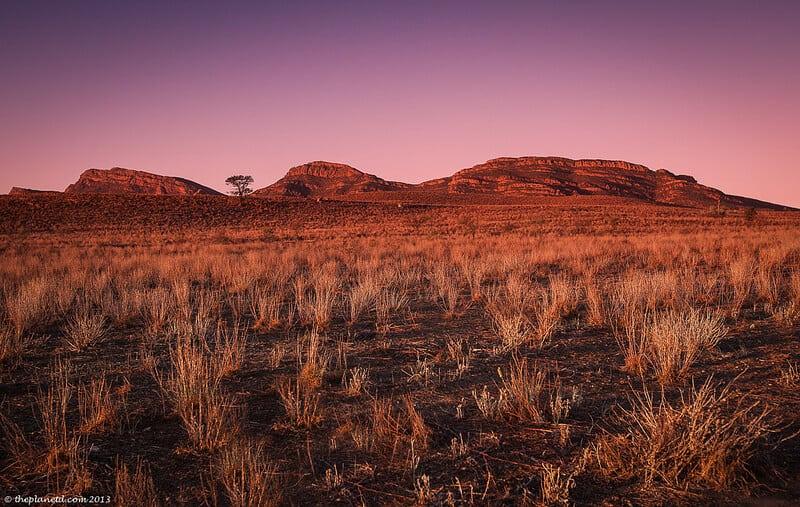 Flinders Ranges Wilpena Pound in Australia gorgeouslandscape