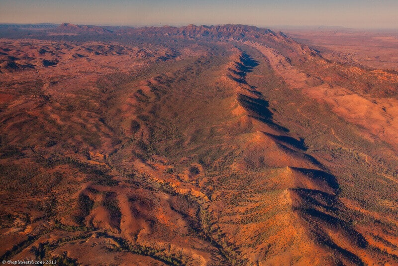 Flinders Mountain Ranges Wilpena Pound view
