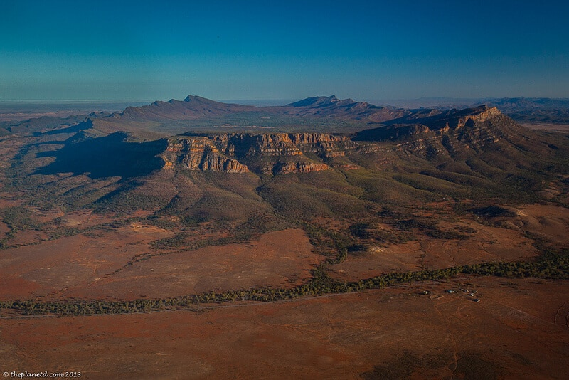 Fly the Flinders Ranges to Witness Wilpena Pound