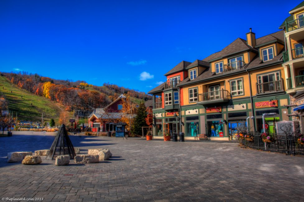 The village at Blue Mountain