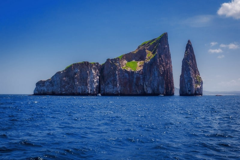 Galapagos Islands Ecuador Kicker Rock shark diving