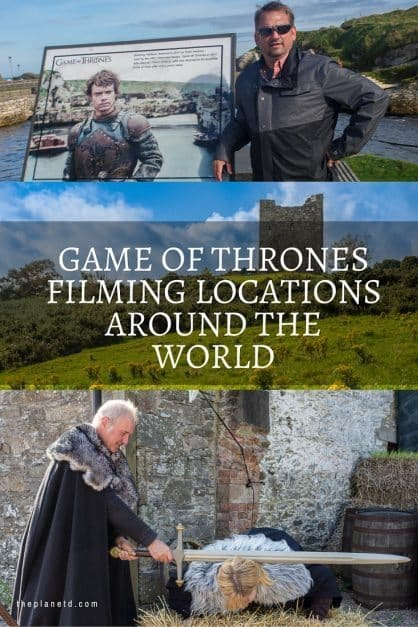Game of Thrones locations Pinterest
