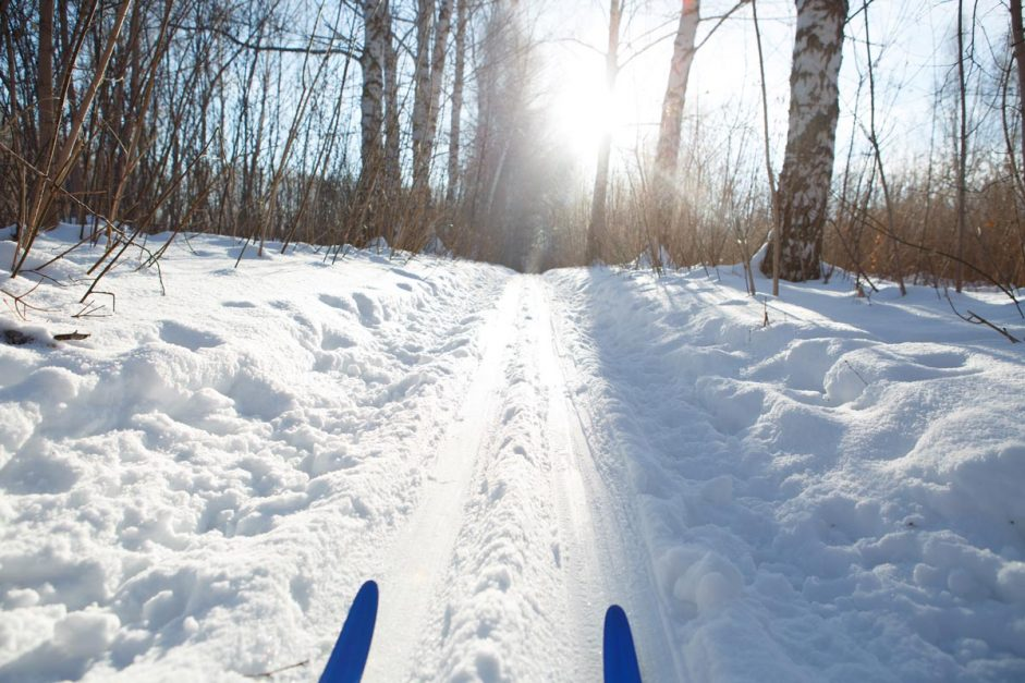 Ottawa Attractions winter Cross Country Skiing