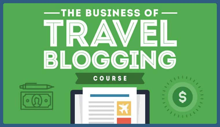 travel blogging course how to travel for a living