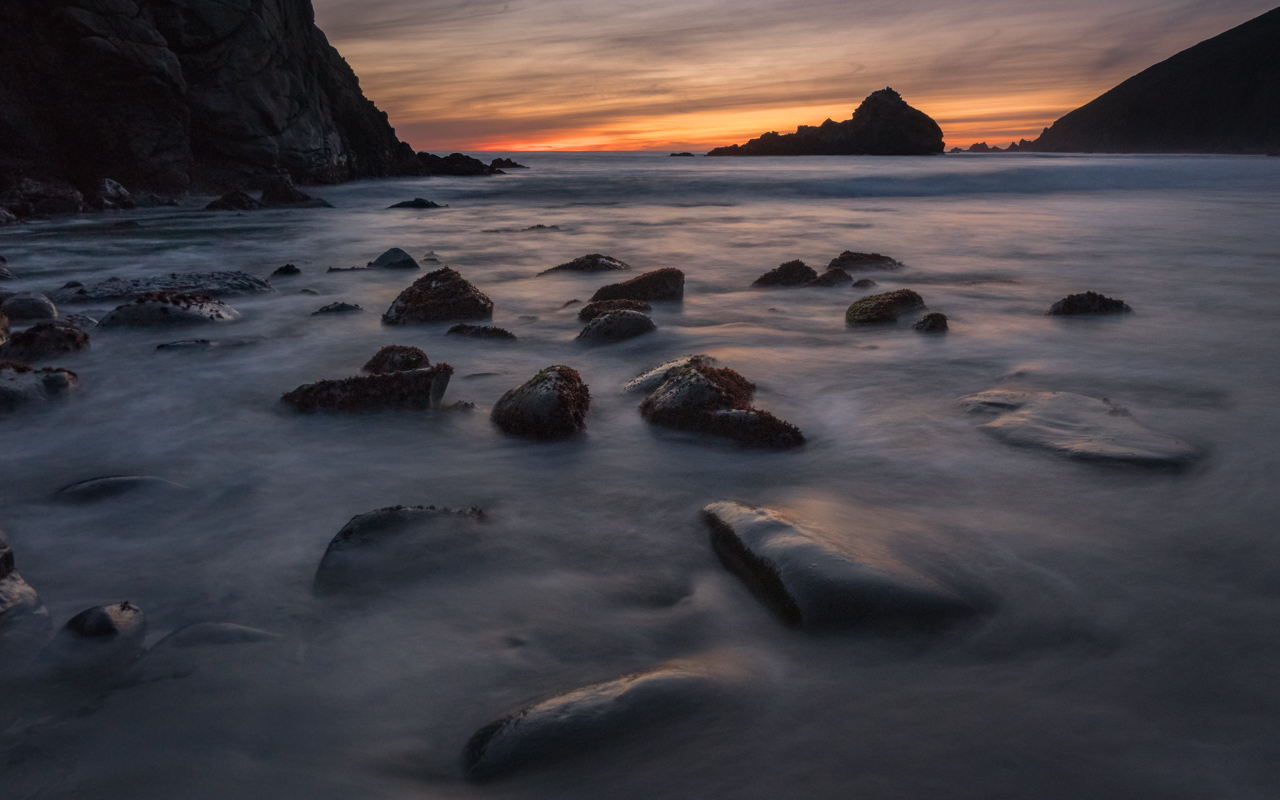 Pfieffer Beach, Big Sur California
