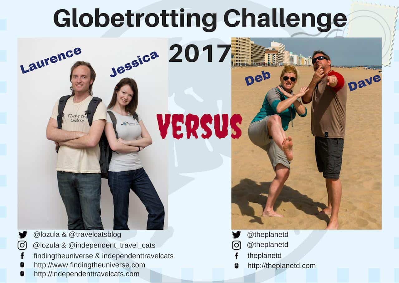 Globetrotting challenge 2017 contestants