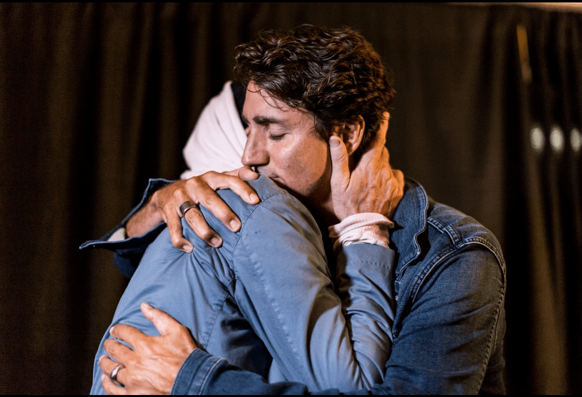 Gord Downie with Prime Minister