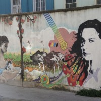 graffiti in Chile