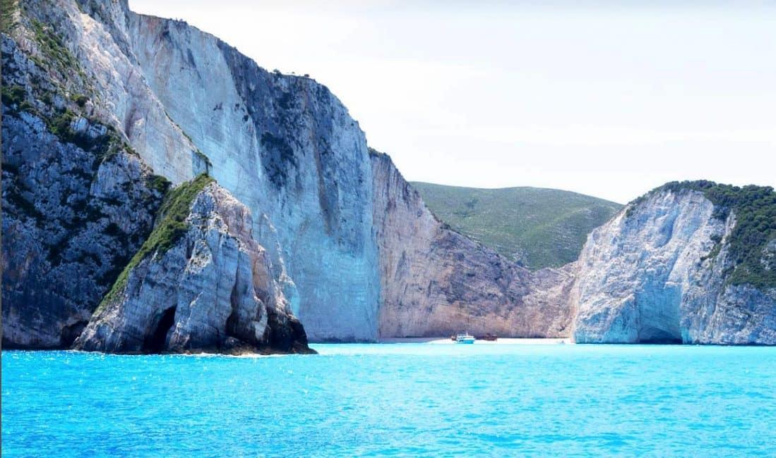 zante island and greek food