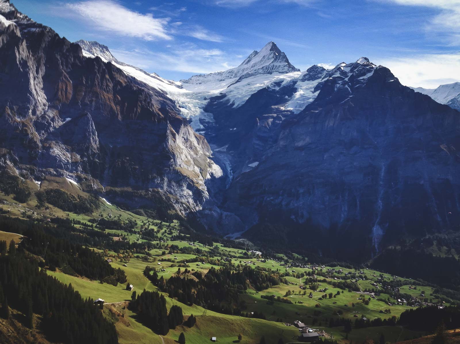 View from First Glider Grindelwald
