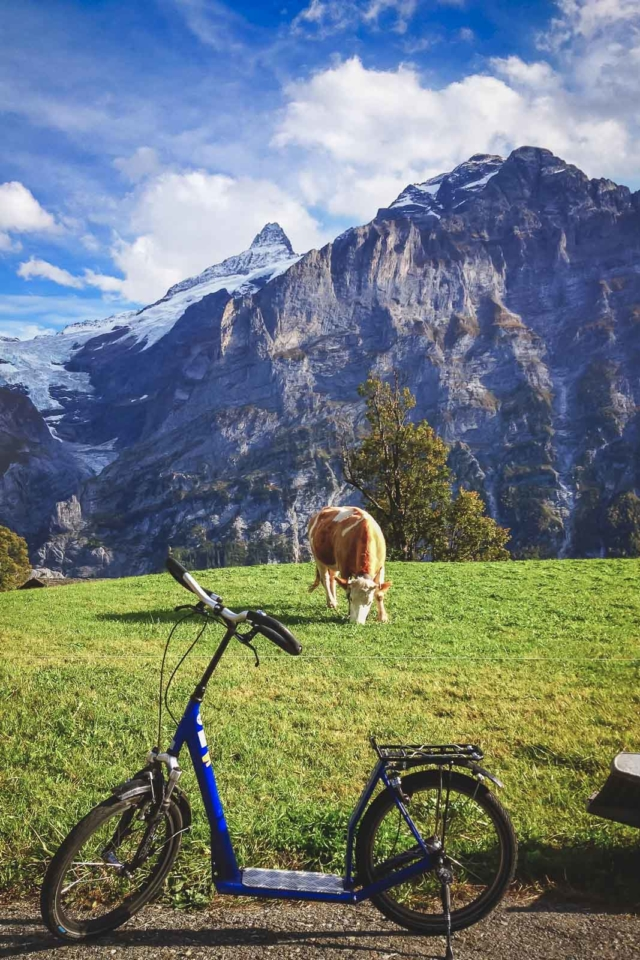 First Trotti Bike Grindelwald
