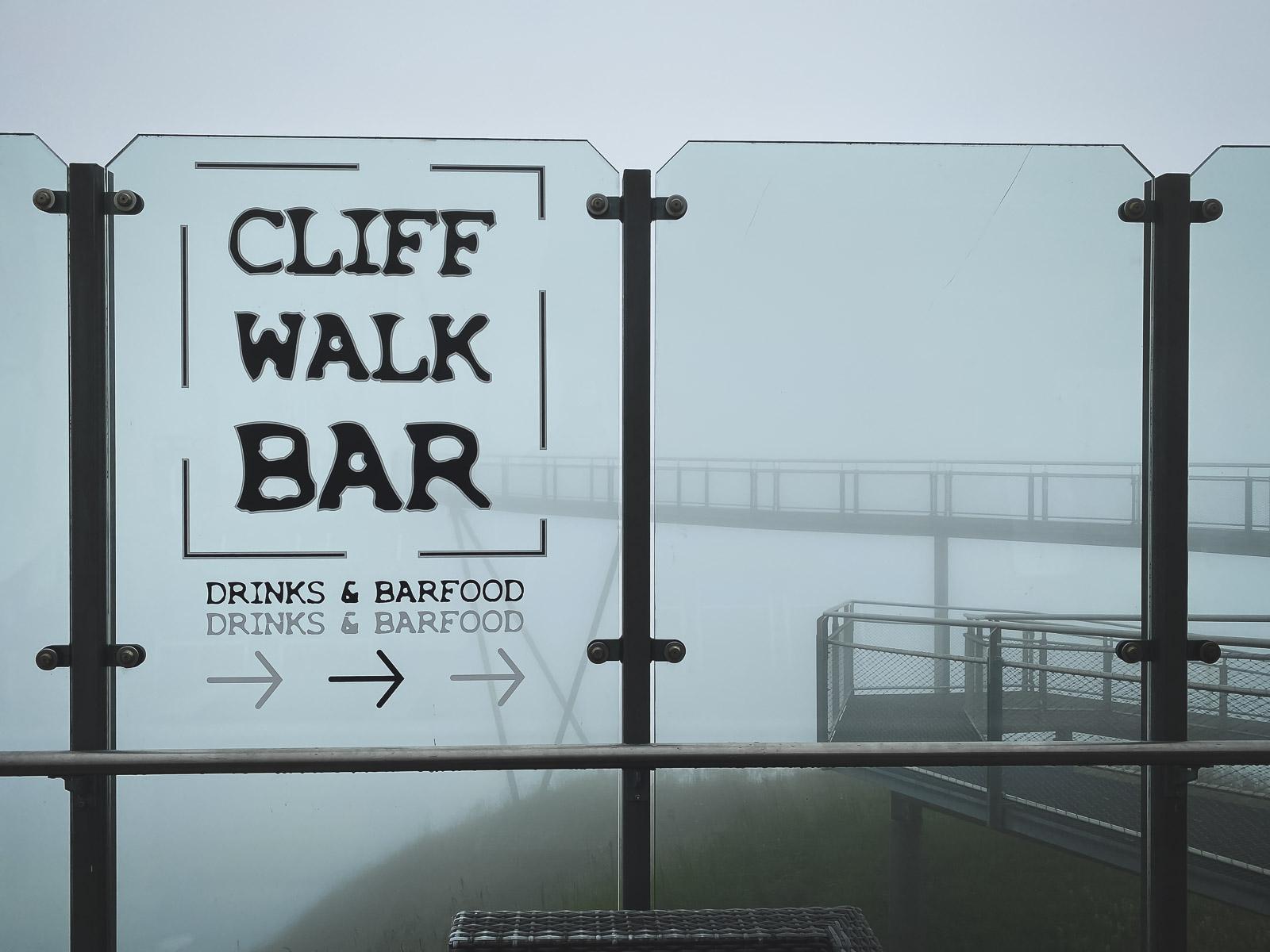 Relax at Cliff Walk Bar