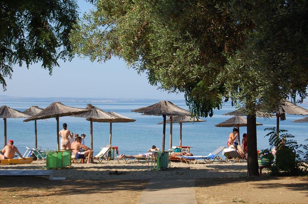 halkadiki greece beach