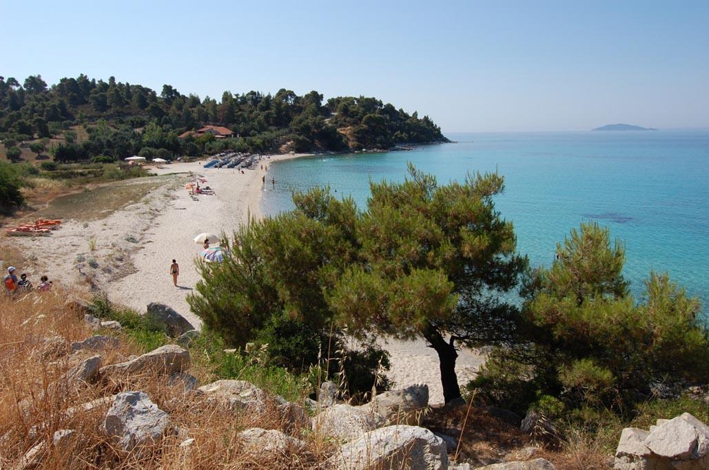Sithonia greece beach