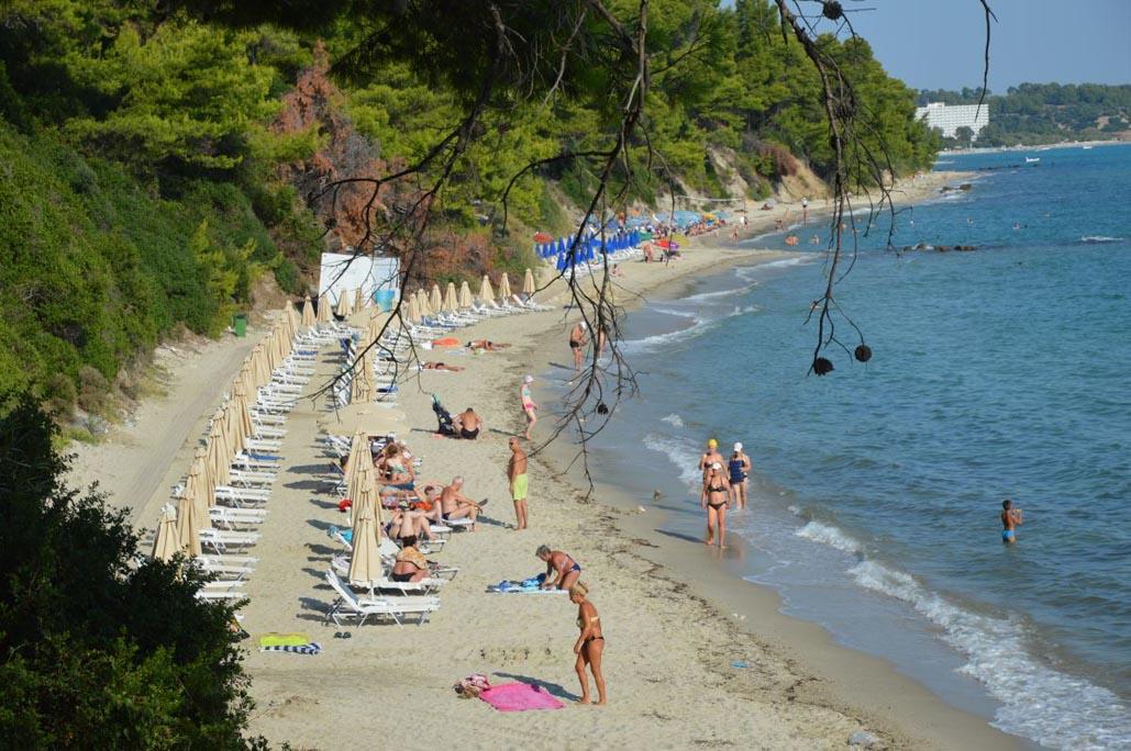 kassandra beach greece