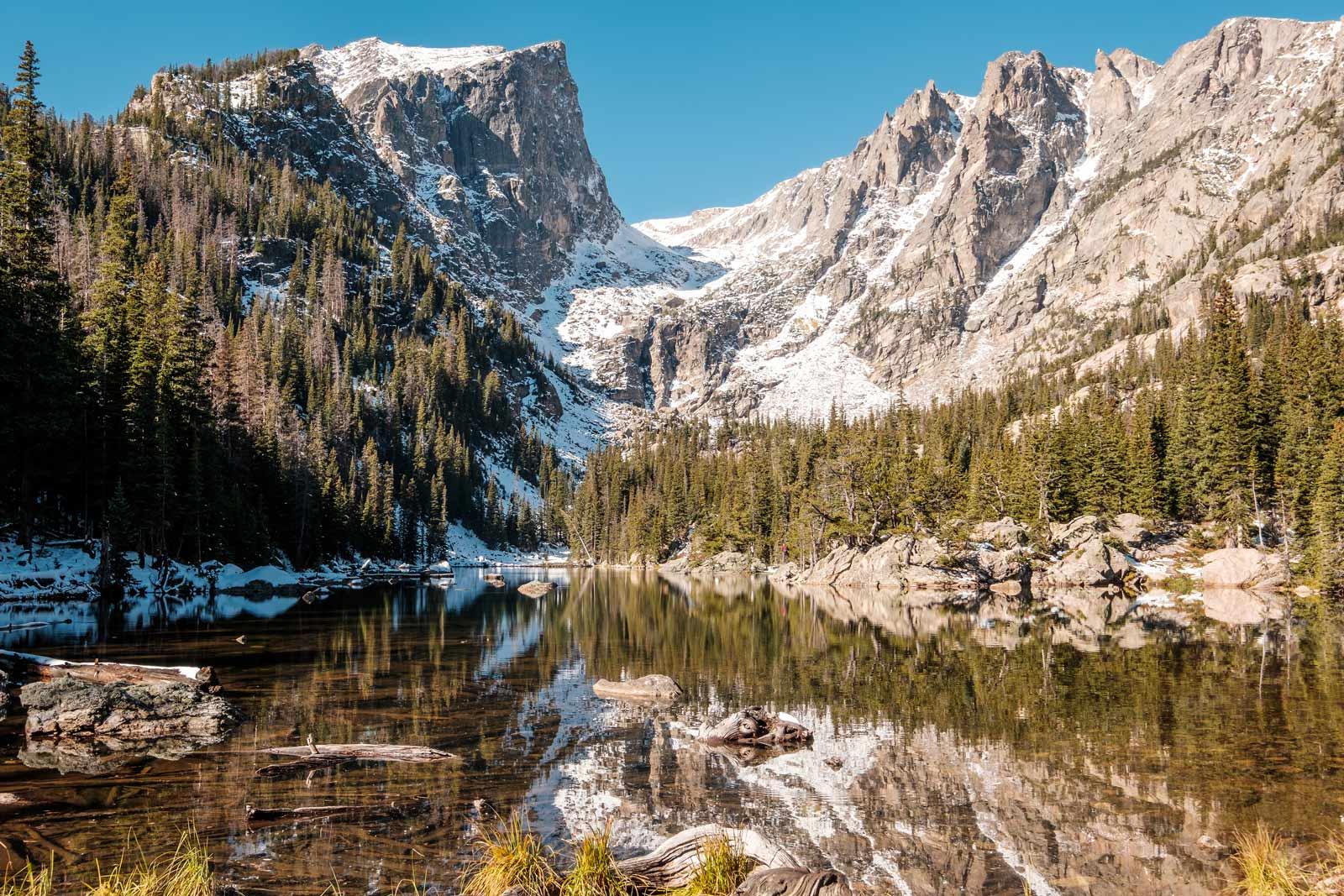Hikes in Rocky Mountain National Park Colorado
