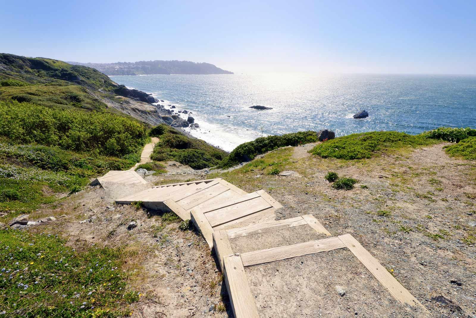 Batteries to Bluffs Hiking Trail San Francisco