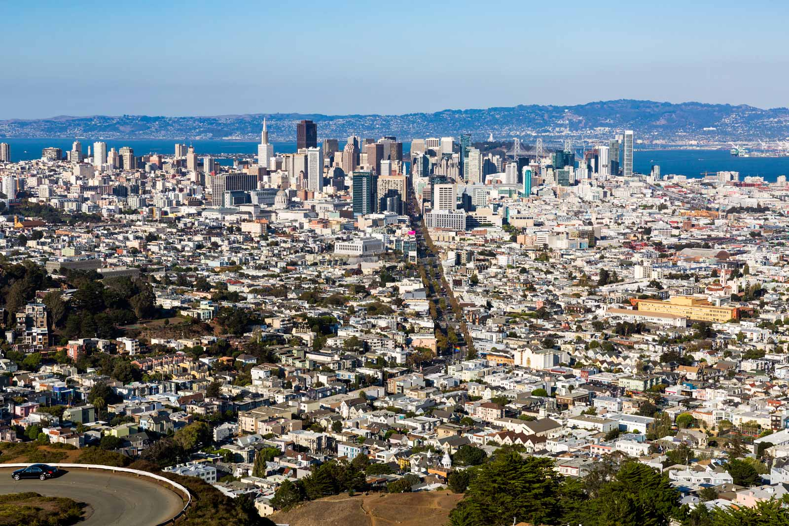 Twin Peaks Hike in San Francisco
