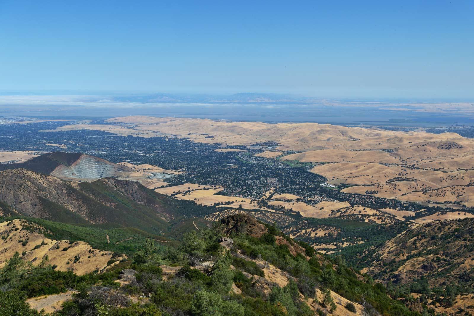 Hiking Trails in Mount Diablo State Park San Francisco