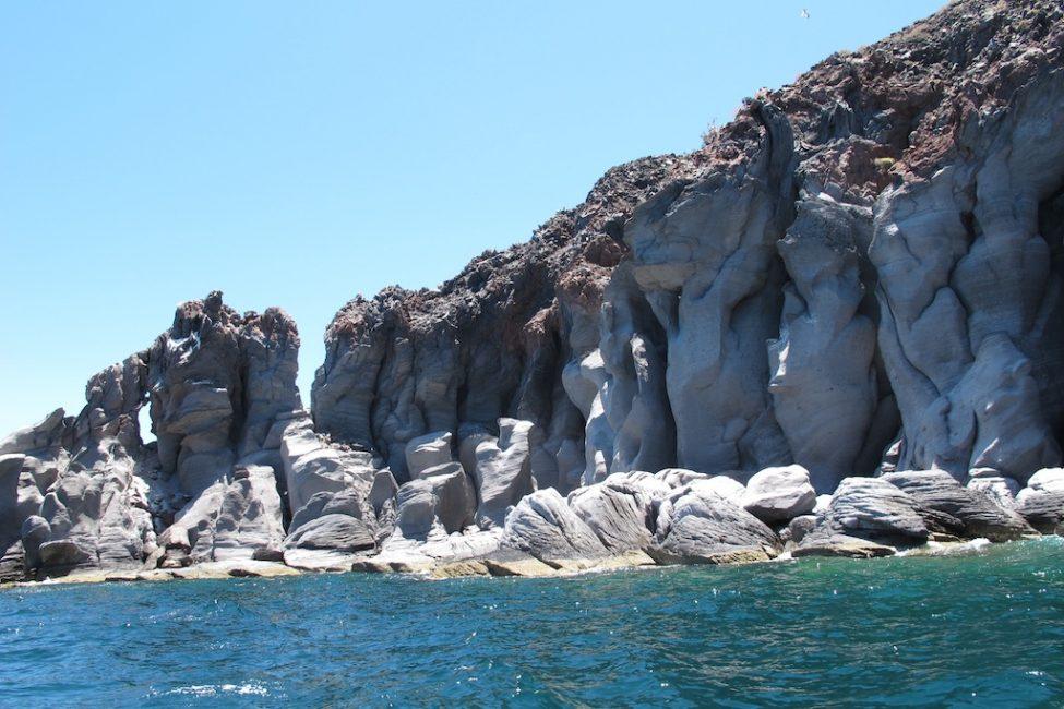 mexico photos rocks and shoreline