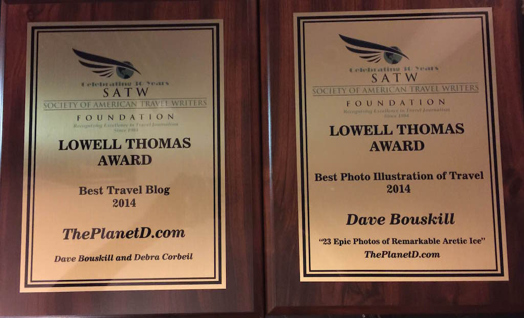 best travel blog lowell thomas awards