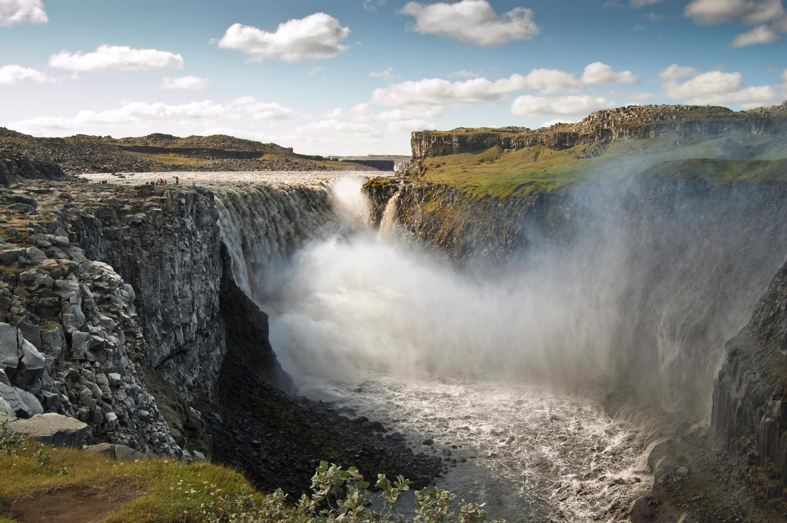 Dettifoss stop on Iceland Road Trip Itinerary