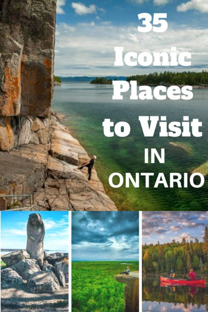 Iconic places to visit in Ontario