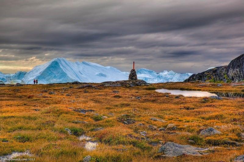 Ilulissat Glacier Greenland fjord