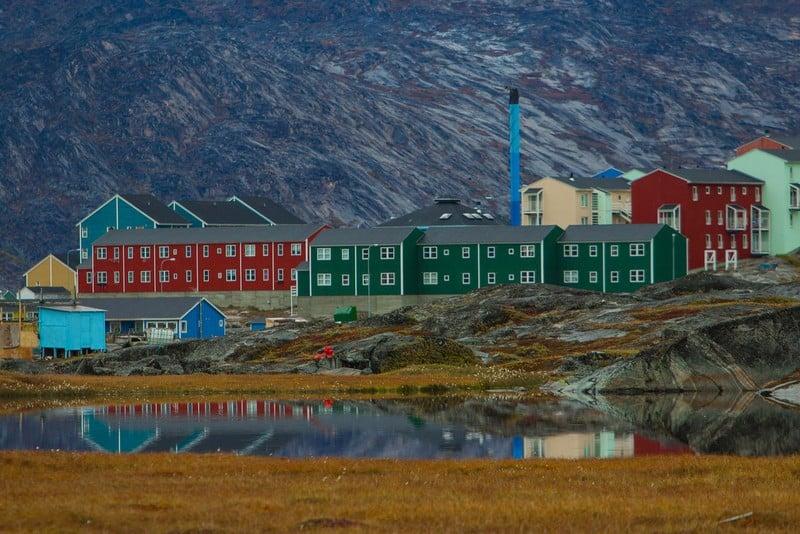 Ilulissat Glacier - town of Ilulissat, Greenland