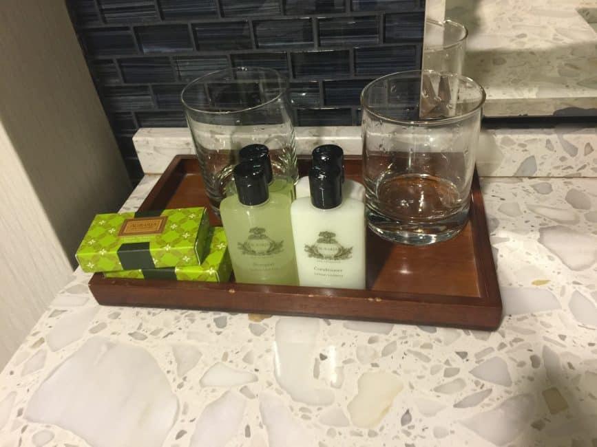 Intercontinental times square shampoo