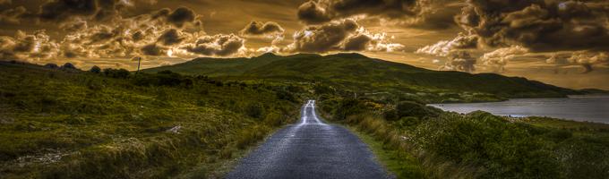 Beautiful scenery in Ireland
