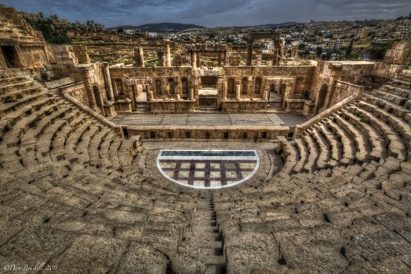 Jerash Jordan  city images : The Jerash Amphitheatre