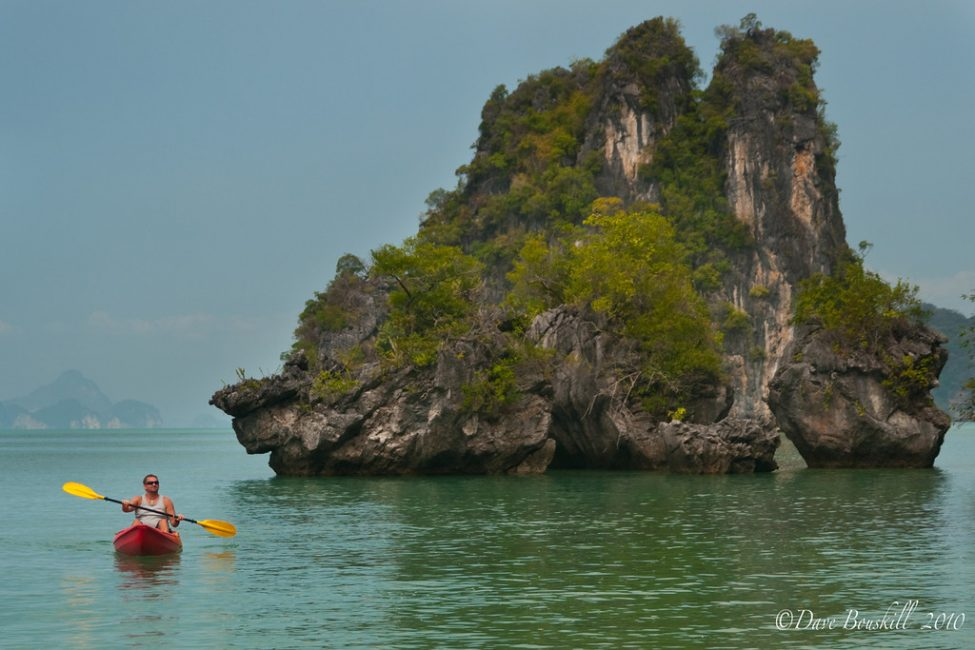 Sea Kayaking in Thailand and Island Camping with John Gray's Sea Canoe