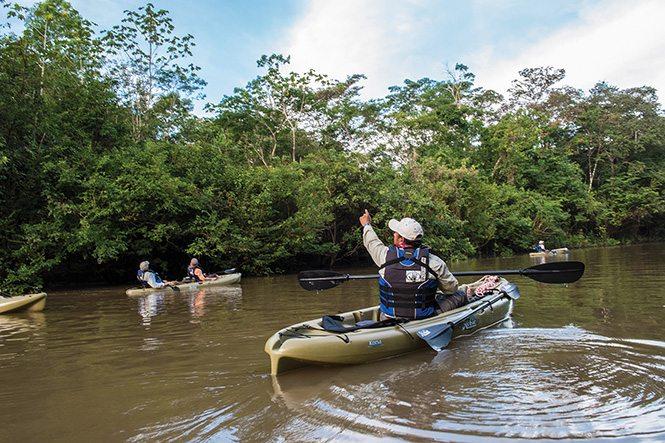 kayaking on Amazon