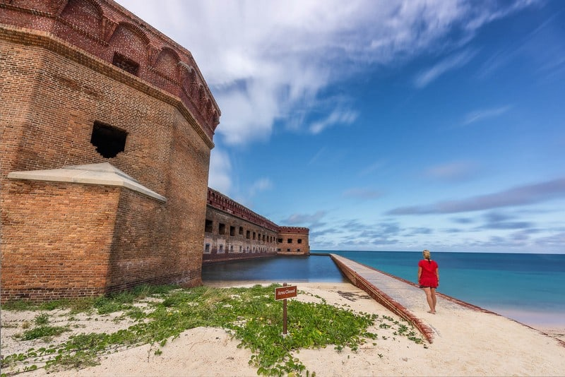 Key West vacation Fort Jefferson