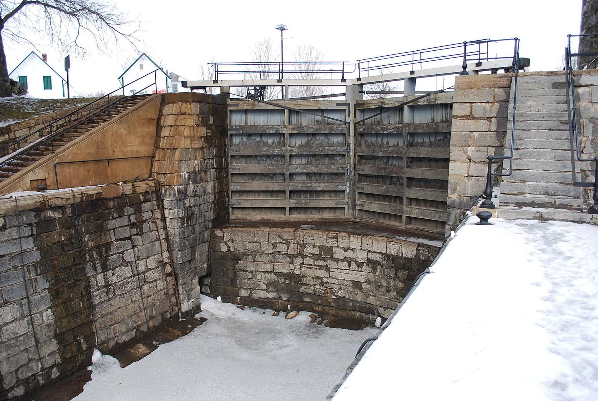 kingston mills lock