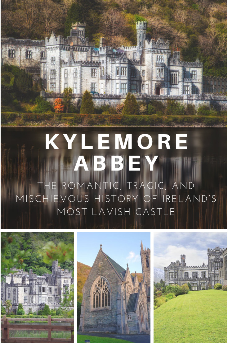 Kylemore Abbey Pin