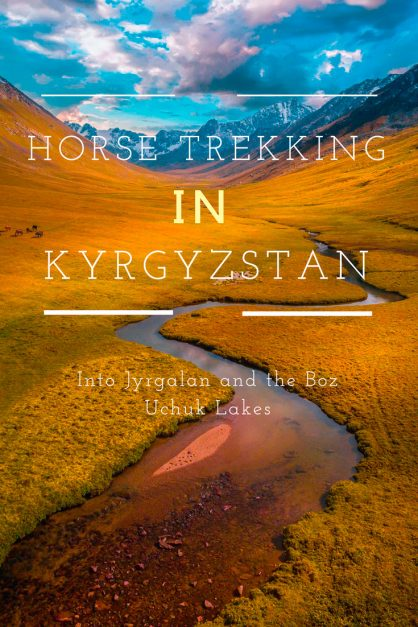 kyrgyzstan-trekking-horse