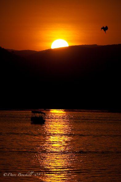 suset-over-lake-pichola-udaipur-india