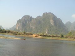 Vang Vieng, Beauty, and Relaxing in Laos