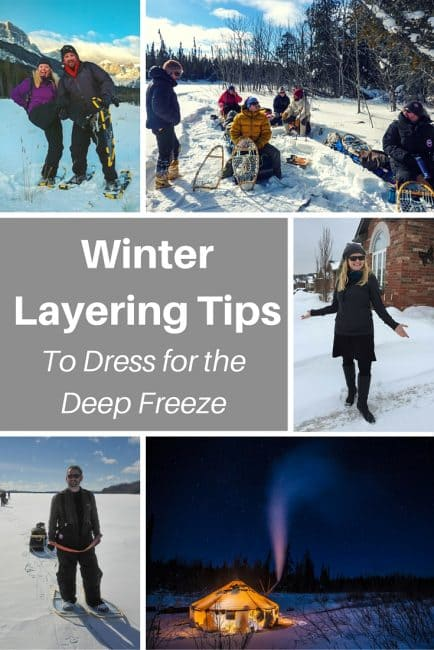 Layering Tips for Cold Weather Travel