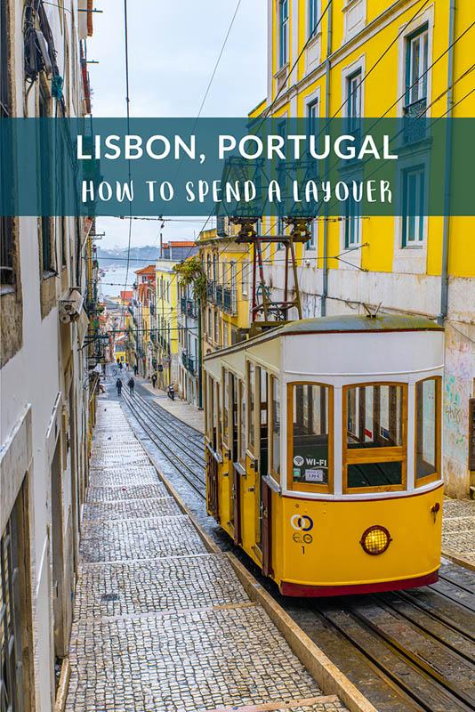 comment passer une escale à Lisbonne Portugal