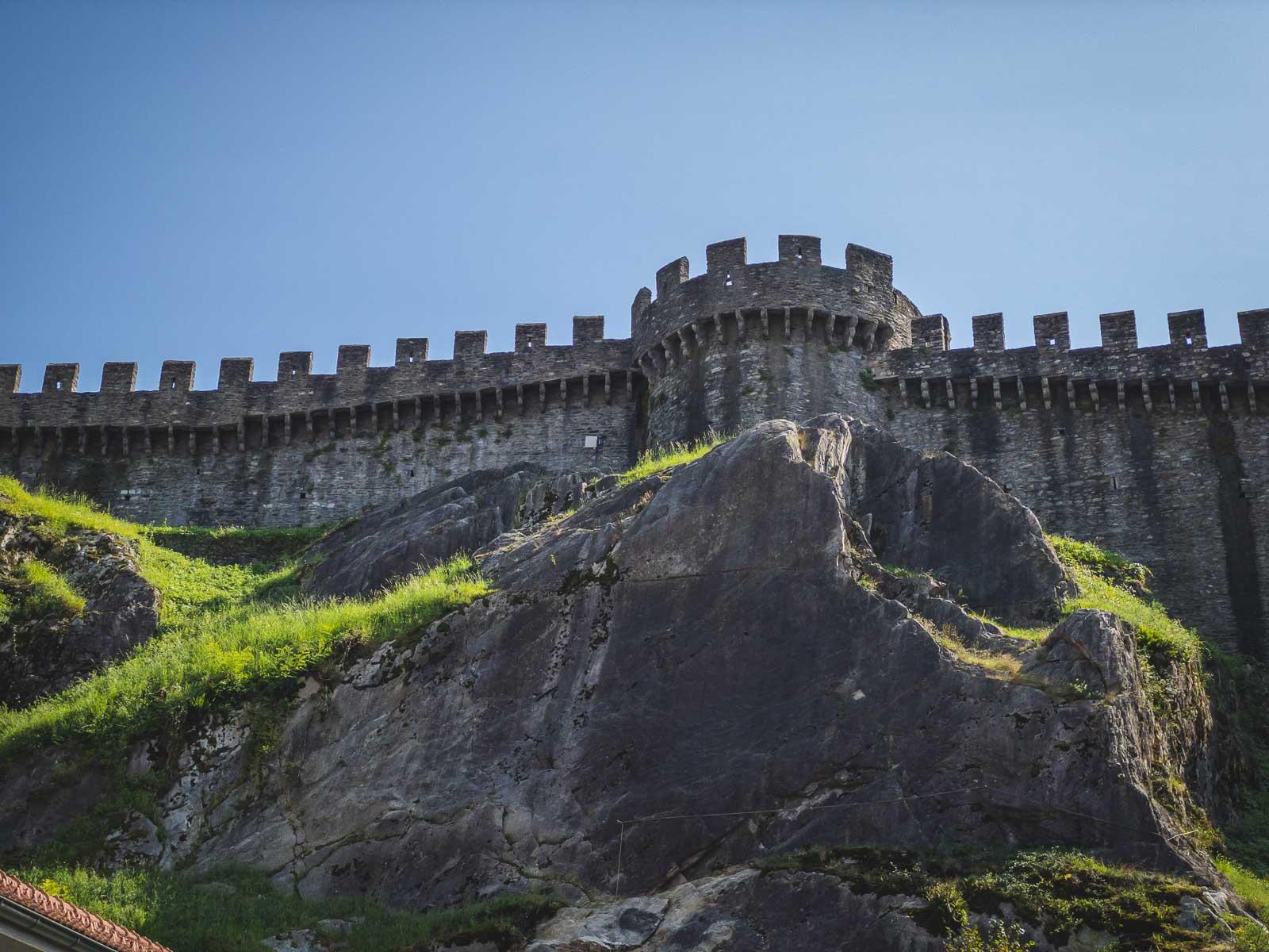 Bellinzona Castles in Ticino