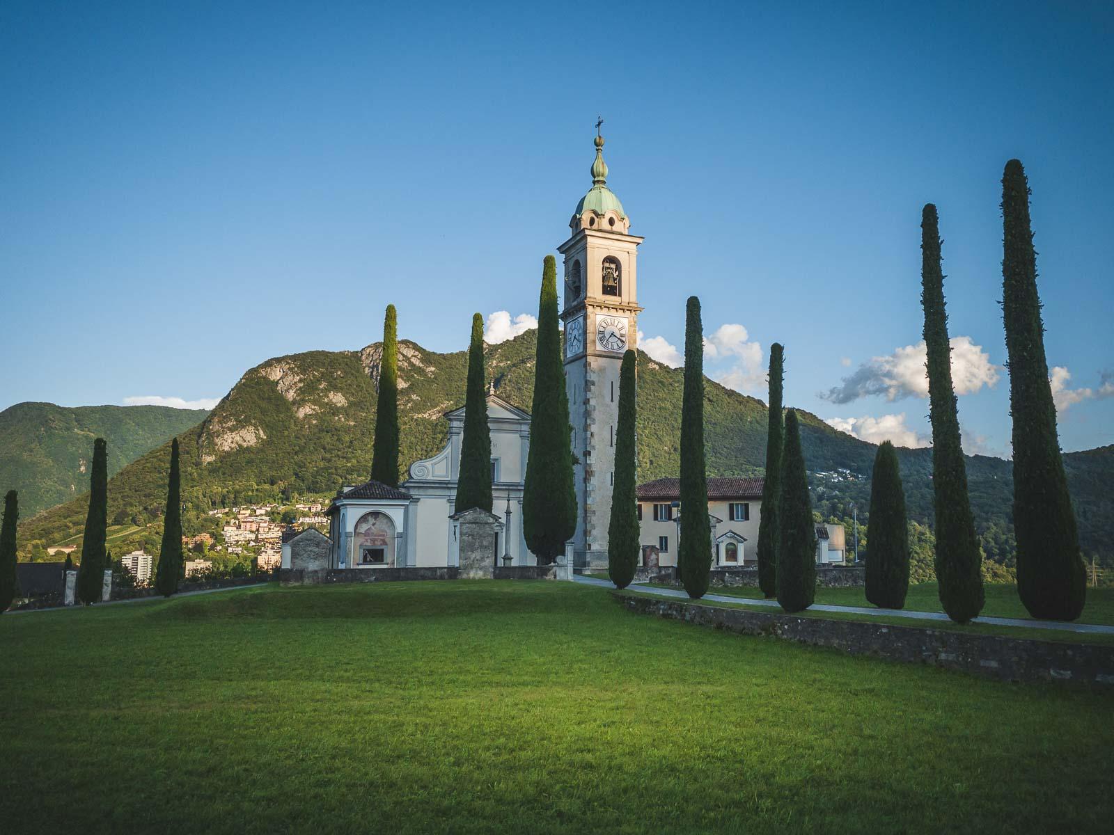 Church Sant Abbondio in Ticino