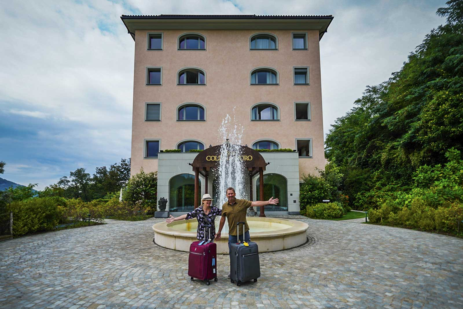 Resort Collina Doro in Ticino
