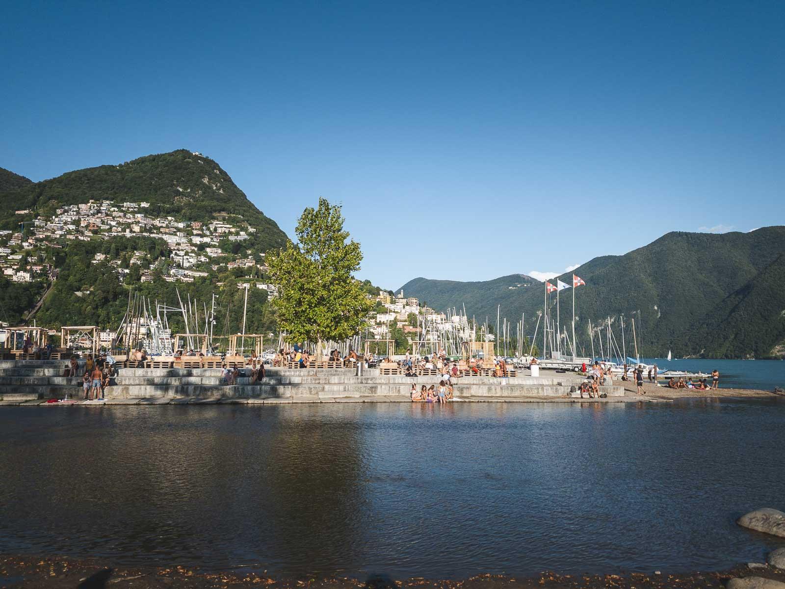 Gandria near Lugano Switzerland