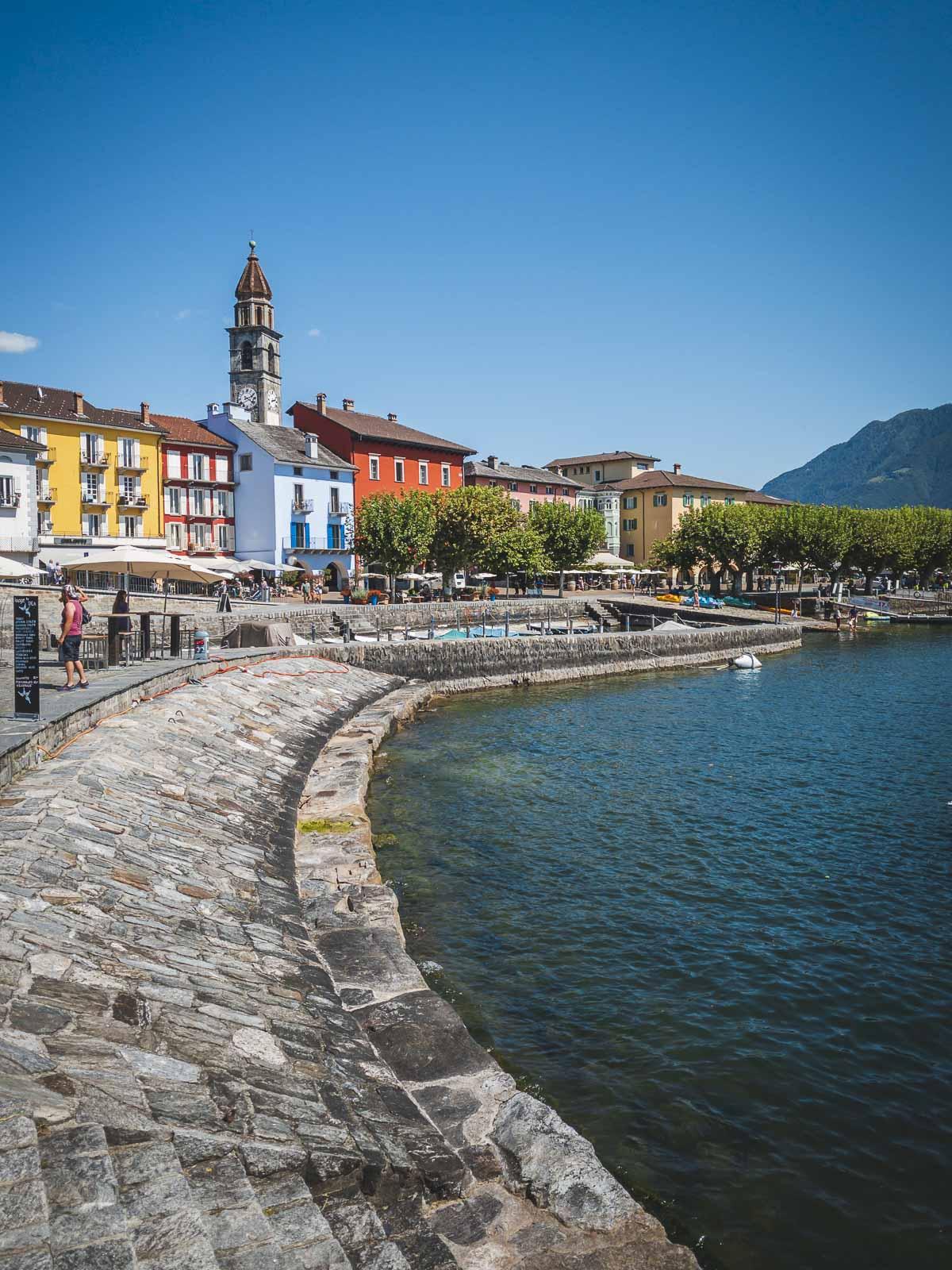 Expolring the beautiful Ascona Town
